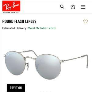 Ray babe round sunglasses